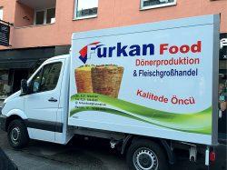 Furkan Food Autobeschriftung