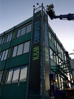 K&M Computer Außenwerbung 3