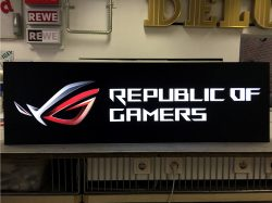 Republic of Games Leuchtkasten