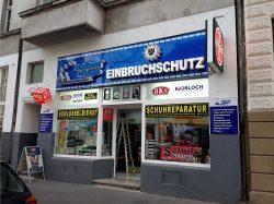 Schlüssel Cologne Einbruchschutz Außenwerbung