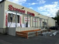Sweet Food Cash & Carry GmbH Terrassenüberdachung